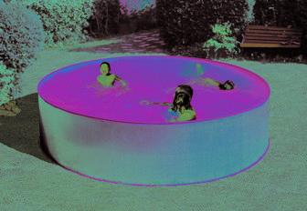 Сборно-разборной бассейн для дачи