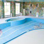 оформление бассейна