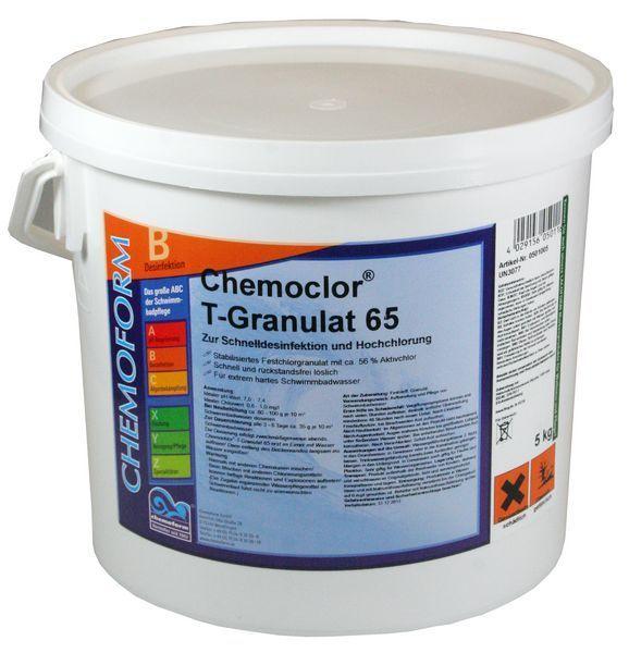 Кемохлор Т-65 гранулированный 5кг - chemoform.ru