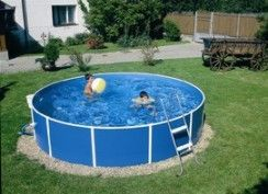 Выбор бассейна для дачного участка
